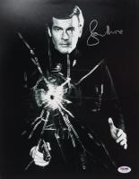 "Roger Moore Signed ""James Bond"" 11x14 Photo (PSA COA) at PristineAuction.com"
