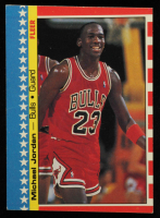 Michael Jordan 1987-88 Fleer Stickers #2 at PristineAuction.com