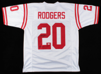"Johnny Rodgers Signed Jersey Inscribed ""Heisman 72"" (JSA COA) at PristineAuction.com"