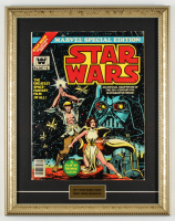 "1977 ""Star Wars"" Issue #1 15x19 Custom Framed Marvel Comic Book Display at PristineAuction.com"