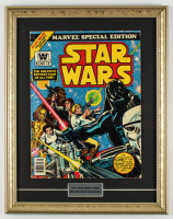 "1977 ""Star Wars"" Issue #2 15x19 Custom Framed Marvel Comic Book Display at PristineAuction.com"