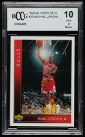 Michael Jordan 1993-94 Topps #23 (BCCG 10) at PristineAuction.com