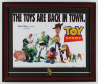 """Toy Story"" 17x20 Custom Framed Photo Display with (1) Toy Story Pin at PristineAuction.com"