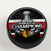 Dave Bollland Signed Blackhawks 2010 Stanley Cup Champions Logo Hockey Puck (PSA COA) at PristineAuction.com