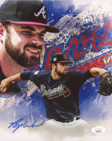 Bryse Wilson Signed Braves 8x10 Photo (JSA COA) at PristineAuction.com