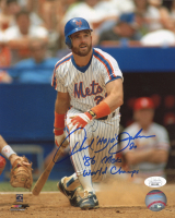 """Howard """"Hojo"""" Johnson Signed Mets 8x10 Photo Inscribed """"'86 Mets World Champs"""" (JSA COA) at PristineAuction.com"""