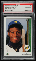 Ken Griffey Jr. 1989 Upper Deck #1 RC (PSA 8) at PristineAuction.com