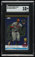 Ronald Acuna Jr. 2019 Topps Chrome Update #81 All-Star (SGC 10) at PristineAuction.com