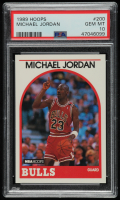 Michael Jordan 1989-90 Hoops #200 (PSA 10) at PristineAuction.com