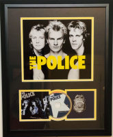 "Sting, Stewart Copeland & Andy Summers Signed ""The Police"" 18x22 Custom Framed CD Cover Display (JSA LOA) at PristineAuction.com"