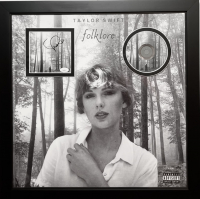 Taylor Swift Signed 22x22 Custom Framed CD Display (JSA COA) at PristineAuction.com