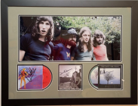 "Roger Waters, Nick Mason & David Gilmour Signed ""Pink Floyd"" 20x26 Custom Framed CD Cover Display (JSA LOA) at PristineAuction.com"
