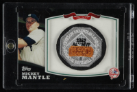 Mickey Mantle 2010 Topps Factory Set Target Mantle MVP Patch #MM3 at PristineAuction.com