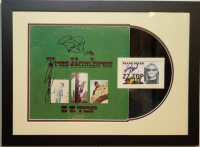 "Billy Gibbons, Dusty Hill & Frank Beard Signed ""ZZ Top - Tres Hombres"" 18x24 Custom Framed LP Cover & Cut Display (JSA COA) at PristineAuction.com"
