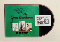 """Billy Gibbons, Dusty Hill & Frank Beard Signed """"ZZ Top - Tres Hombres"""" 18x24 Custom Framed LP Cover & Cut Display (JSA COA) at PristineAuction.com"""
