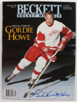 "Gordie Howe Signed 1996 Beckett Monthly Magazine Inscribed ""Mr. Hockey"" (JSA COA) at PristineAuction.com"