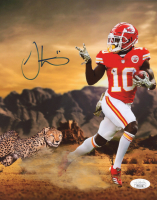 Tyreek Hill Signed Chiefs 8x10 Photo (JSA COA) at PristineAuction.com