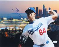 Julio Urias Signed Dodgers 11x14 Photo (JSA COA) at PristineAuction.com