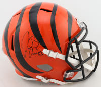 "Joe Burrow Signed Bengals Full-Size Speed Helmet Inscribed ""2020 #1 Pick"" (Fanatics Hologram) at PristineAuction.com"