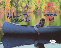 """Ari Lehman Signed """"Friday the 13th"""" 8x10 Photo Inscribed """"Jason 1"""" & """"Come On In!"""" (JSA COA) at PristineAuction.com"""