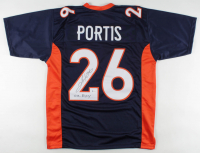 "Clinton Portis Signed Jersey Inscribed ""02 ROY"" (Beckett COA) at PristineAuction.com"