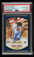 Corey Seager Signed 2013 USA Baseball Champions #93 (PSA Encapsulated) at PristineAuction.com