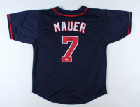 Joe Mauer Signed Jersey (Beckett COA) at PristineAuction.com