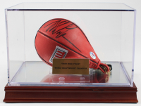 Mike Tyson Signed Everlast Boxing Speed Bag With Display Case (PSA COA) at PristineAuction.com