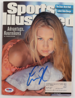 Anna Kournikova Signed 2000 Sports Illustrated Magazine (PSA COA) (See Description) at PristineAuction.com