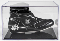 Mike Tyson Signed Ringside Boxing Shoe with Display Case (PSA COA) at PristineAuction.com