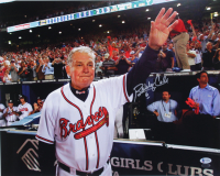 Bobby Cox Signed Braves 16x20 Photo (Beckett Hologram & The Sports Mix Hologram) at PristineAuction.com