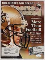 Drew Brees Signed 2007 Sports Illustrated Magazine (JSA COA) (See Description) at PristineAuction.com