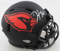 DeAndre Hopkins Signed Cardinals Eclipse Alternate Speed Mini Helmet (Beckett COA) at PristineAuction.com