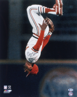 """Ozzie Smith Signed Cardinals 16x20 Photo Inscribed """"HOF 02"""" (Beckett COA) at PristineAuction.com"""