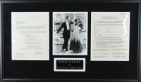 Fred Astaire & Ginger Rogers Signed 19x32 Custom Framed Contract Display (Beckett LOA) (See Description) at PristineAuction.com