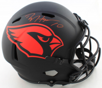DeAndre Hopkins Signed Cardinals Eclipse Alternate Full-Size Speed Helmet (Beckett COA) at PristineAuction.com