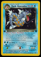 Dark Gyarados 2000 Pokemon Team Rocket 1st Edition #8 Holo at PristineAuction.com
