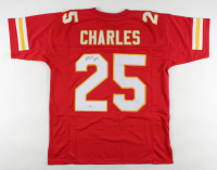 Jamaal Charles Signed Jersey (Beckett COA) at PristineAuction.com