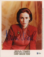 "Nana Visitor Signed ""Star Trek: Deep Space Nine"" 8x10 Photo (Beckett COA) at PristineAuction.com"