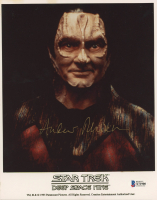 "Andrew Robinson Signed ""Star Trek: Deep Space Nine"" 8x10 Photo (Beckett COA) at PristineAuction.com"