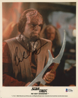 "Michael Dorn Signed ""Star Trek: The Next Generation"" 8x10 Photo (Beckett COA) at PristineAuction.com"