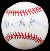 Mary Lou Retton Signed ONL Baseball (JSA COA) (See Description) at PristineAuction.com