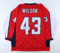Tom Wilson Signed Jersey (JSA COA) at PristineAuction.com