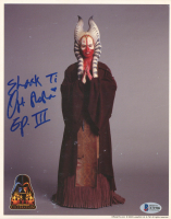 "Orli Shoshan Signed ""Star Wars"" 8x10 Photo Inscribed ""Ep. III"" & ""Shaak Ti"" (Beckett COA) at PristineAuction.com"