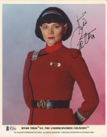 "Kim Cattrall Signed ""Star Trek VI: The Undiscovered Country"" 8x10 Photo (Beckett COA) at PristineAuction.com"