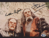 "William Campbell & John Colicos Signed ""Star Trek: Deep Space Nine"" 8x10 Photo (Beckett COA) at PristineAuction.com"