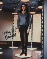 "Majel Barrett Signed ""Star Trek"" 8x10 Photo (Beckett COA) at PristineAuction.com"
