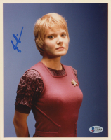 "Jennifer Lien Signed ""Star Trek"" 8x10 Photo (Beckett COA) at PristineAuction.com"