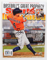 George Springer Signed 2014 Sports Illustrated Magazine (Beckett COA) at PristineAuction.com