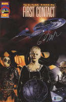 "Gates McFadden Signed 1996 ""Star Trek: First Contact"" Vol. 1 Issue #1 Marvel Comic Book (Beckett COA) at PristineAuction.com"